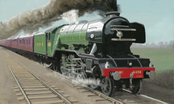 Flying Scotsman by DogsBod