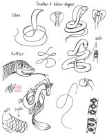 Draw Snakes and Sea Monsters by Diana-Huang