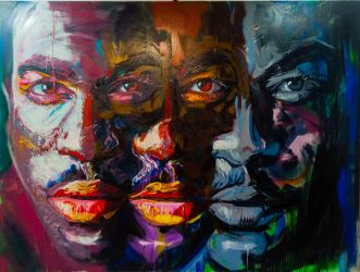 Schizophrenic Masculinity: The three head one by K-mar