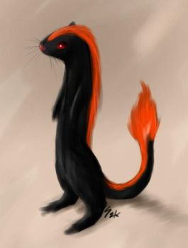 char the fire weasel by gts