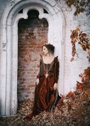 Autumn leaves by antiquecameo