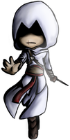 OMG Chibi Altair by torinid