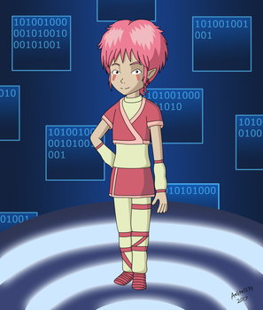 Code Lyoko: Aelita by Supersonia