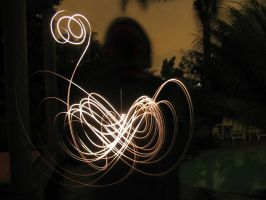 Light Drawing-Swan by CrimsonClown