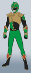 HyperForce Green Ranger by RiderB0y