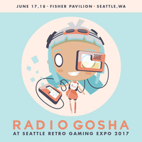 Radio Gosha x Seattle Retro Gaming Expo 2017 by GoshaDole