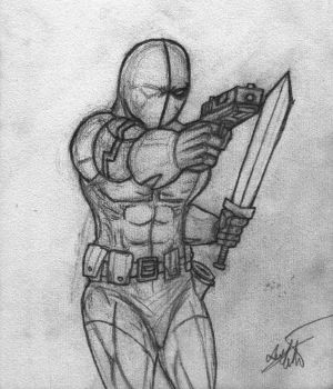 Deathstroke by BobTheEgg