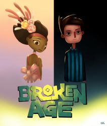 Broken Age: Vella and Shay + Speed Painting by LillyTalent