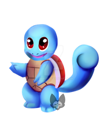 Pokemon: Squirtle by Takarti