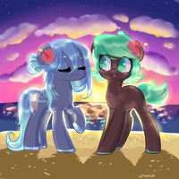Beach babs by Vpshka