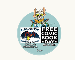 Free Comic Book Day by LytletheLemur