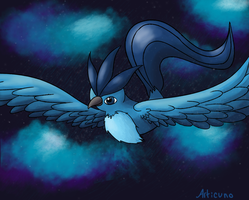 Articuno - Day 5 by Miss-Callie-Rose