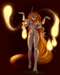 Fire Dancer Blize by Kigurou