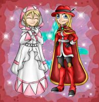 Birthday Mages by Lady-of-Link