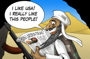 Osama Bin Laden by MasterLudus