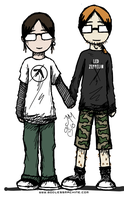 Me and Roman by godlessmachine