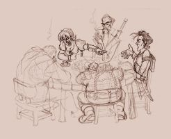 Sketchiness - DnD by BluntieDK
