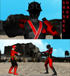 [MMD NC] Shinken-Dark by MIST-TO-GUN