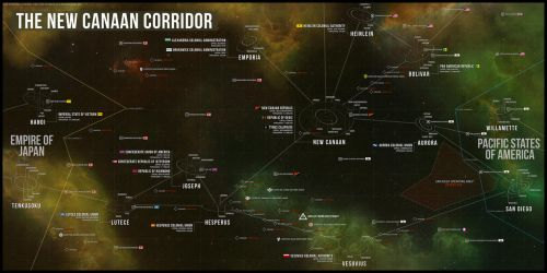 The New Canaan Corridor by DawnofVictory2289