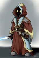 SW RPG character - Jedi Knight Two'qi by Theonyn