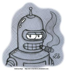 Futurama - Bender by AK-Is-Harmless
