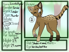 Invisibilitystar Reference Sheet by Official-Fallblossom