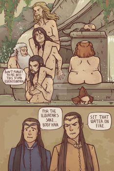 The Hobbit: Totem of naked hairy Dwarves