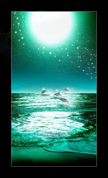 Dolphins... by Rielev