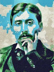 Marcel Proust by peterpicture