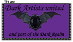 Stamp for Dark Artists United by Melanie-Howle-H