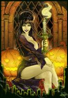 Elvira in color by x-catman