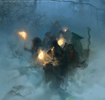 Impenetrable fog by ultracold
