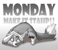 Monday - make it stop! by TaniDaReal