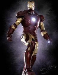 Iron Man by Flohquaste