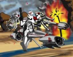 commander Neyo and 91st by axemeagain