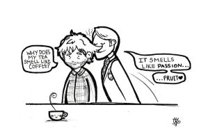 Tea Time with Hannibal by aunjuli