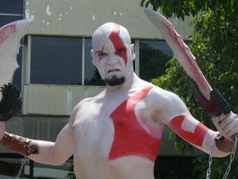Cosplay Kratos - God of War by wendylizana