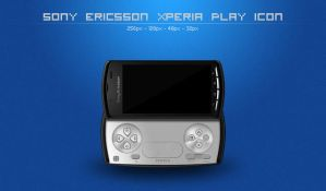 SE Xperia Play icon by TomasJanousek
