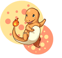 Day 2- Charmander by Mags-Pi