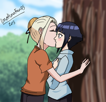 Surprise Kiss by InoHinaFan95