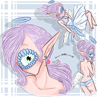 Xynthii: One Off: Sketch Adopt 1: CLOSED by ObsceneBarbie