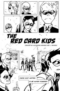 The Red Card Kids pg 2 by alejandrodraws