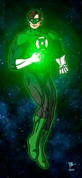 Green Lantern by oginmysoul