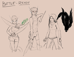EA-LEC: battle-ready (weekly prompt) by Absolute-Sero