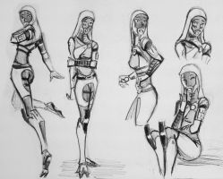 sketches Tali (113) by spaceMAXmarine