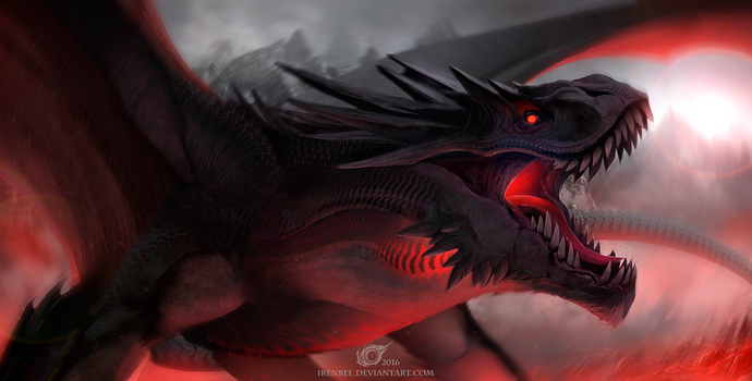 Dragon Su'umiinax by IrenBee
