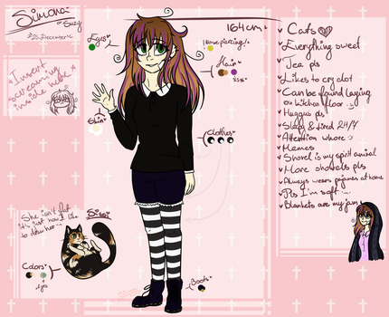 Oh god I actually made a persona ref by LilSimona