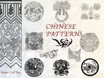 35 Chinese Patterns Pack by Yue-Iceseal
