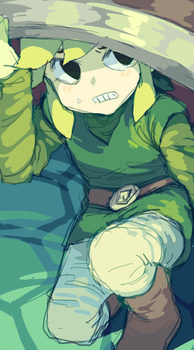 god i love toon link so much by LuluKatrina