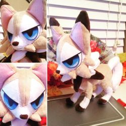Lycanroc Plush by Touken2